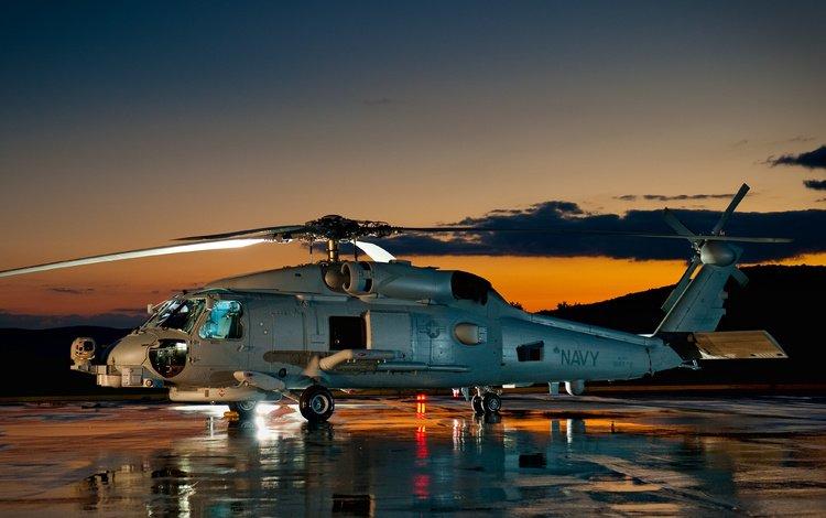 vertolyot, sh 60, seahawk