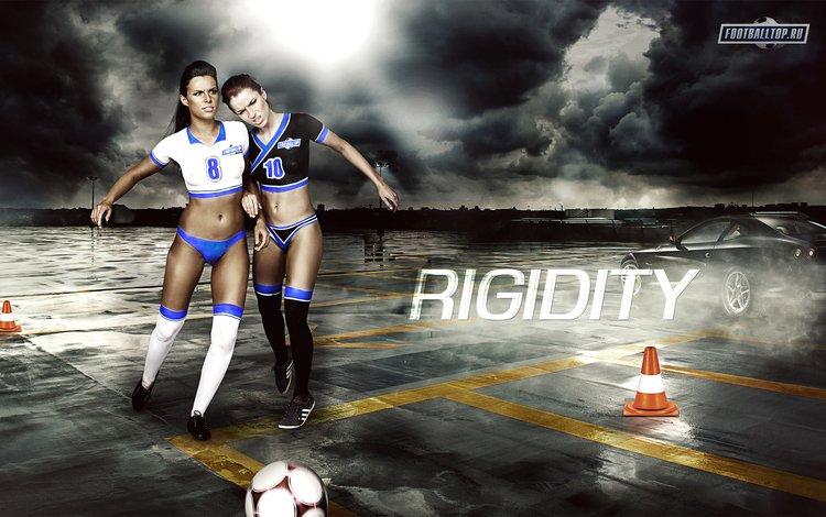 футбол, девушка, football, girl