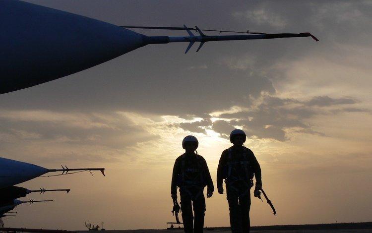 samolyot, ayerodrom, piloty