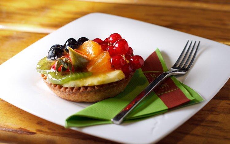 fruit, plug, berries, sweet, dessert, cake