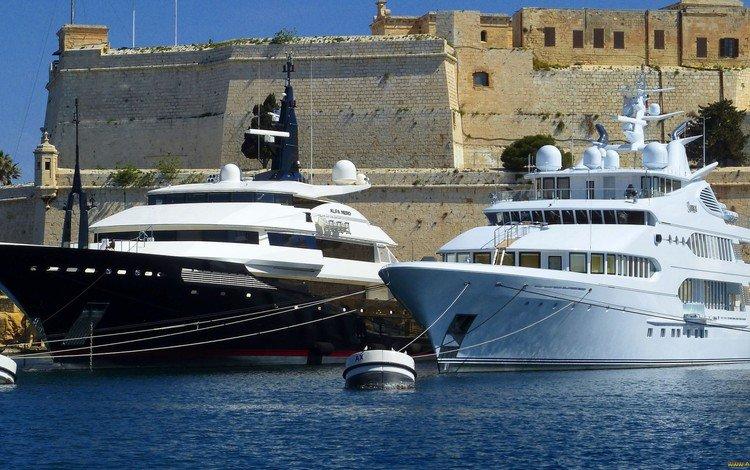 яхты, yachts