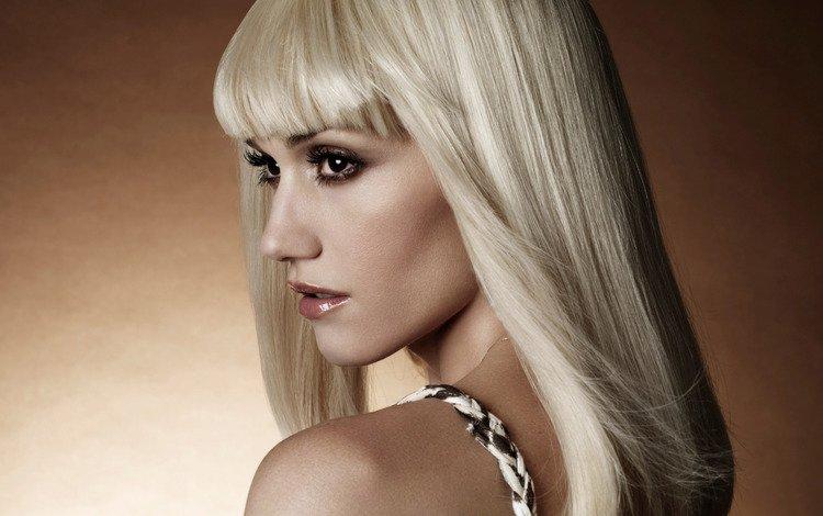 девушка, блондинка, портрет, волосы, лицо, певица, гвен стефани, girl, blonde, portrait, hair, face, singer, gwen stefani