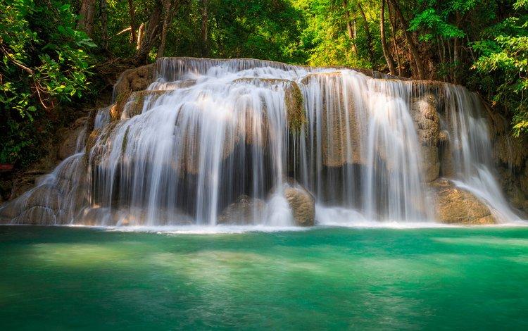 водопад, waterfall