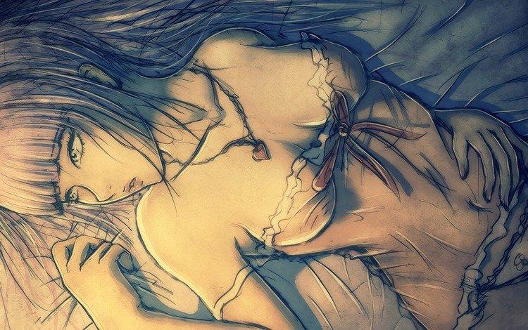 арт, девушка, сердецко, lyozha, kulon, penyua, рисоунок, art, girl, serdechko, risunok