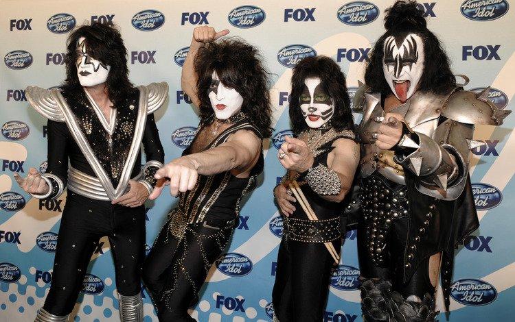 super, rock band, group, rok, legendy, american rock idols, glamorous mask, kiss