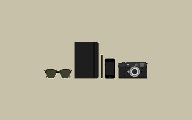 minimalizm, predmety