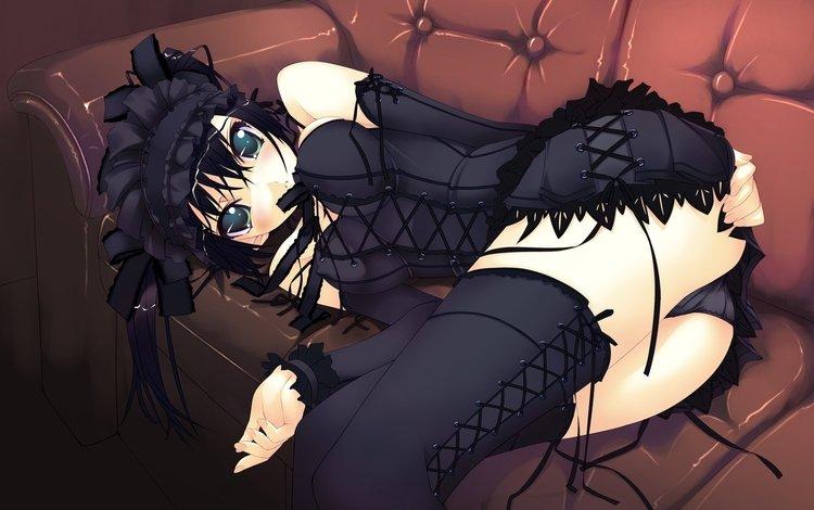 девушка, аниме, yepizod, kartika, girl, anime