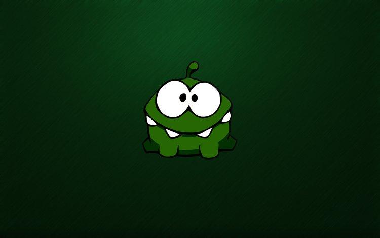 zelenyj, monstr, chudik, monstrik, glazastyj, zubastyj