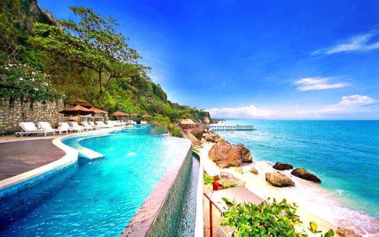 море, пляж, тропики, sea, beach, tropics