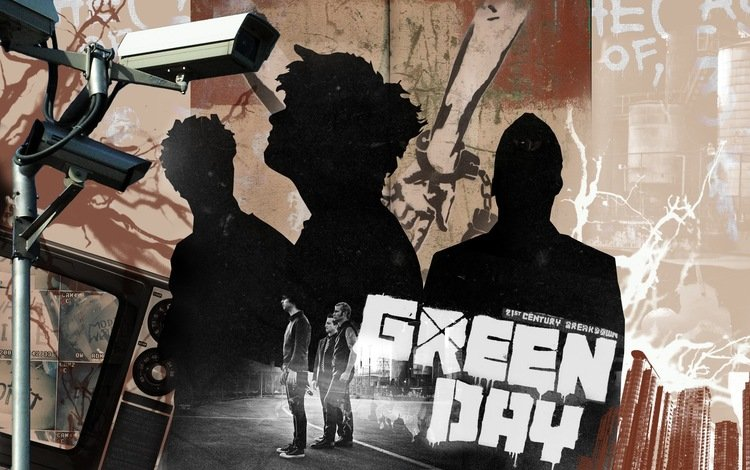 green day, billie joe armstrong, tre, музыкa, music