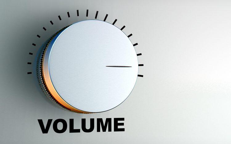 громкость, регулятор, уровень, the volume, controller, level