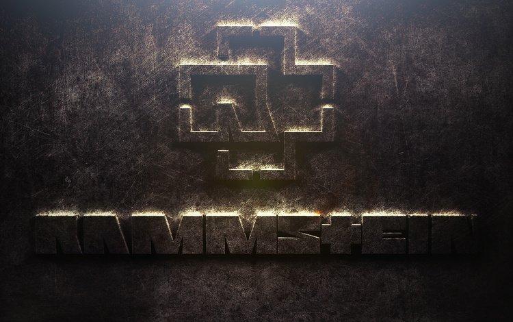 группа, лого, железо, rammstein, group, logo, iron