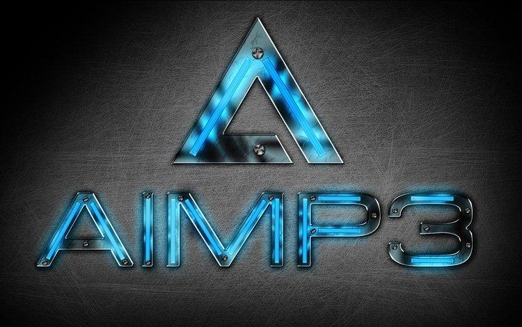лого, hi-tech, aimp, бесплатный аудиопроигрыватель, logo, free audio player