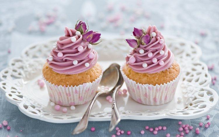 цветы, крем для торта, сладкое, украшение, выпечка, десерт, кексы, flowers, cream cake, sweet, decoration, cakes, dessert, cupcakes