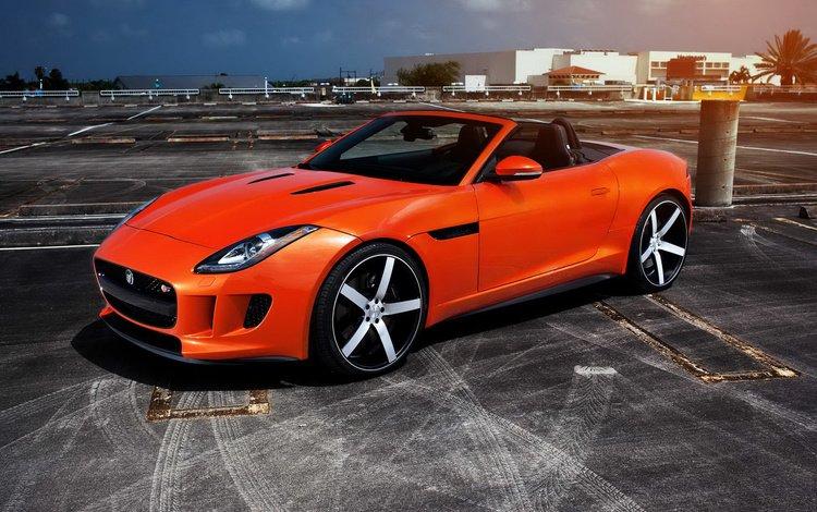 оранжевый, тюнинг, ягуа́р, orange, tuning, jaguar