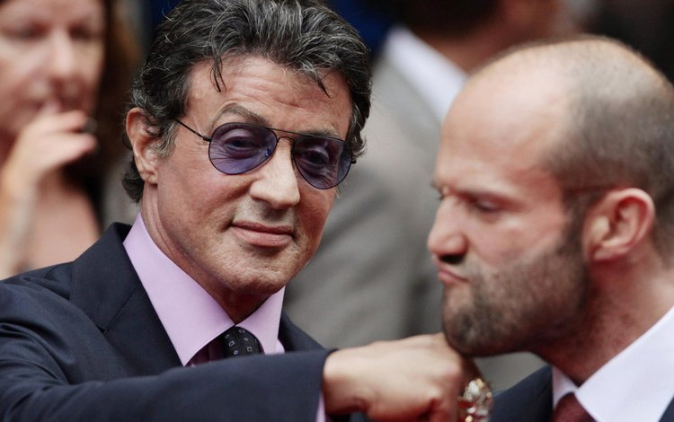 актёр, мужчина, сильвестр сталлоне, джейсон стэтхэм, actor, male, sylvester stallone, jason statham