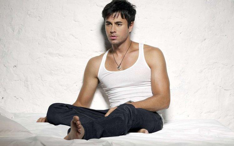 певец, энрике иглесиас, красивый мужчина, singer, enrique iglesias, handsome man