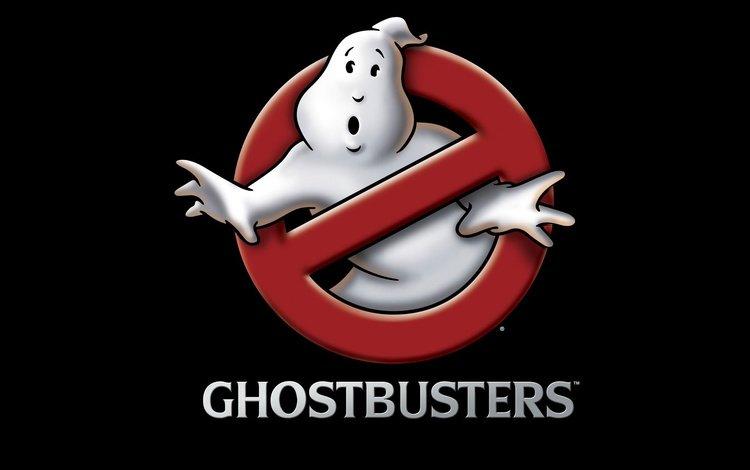 логотип, охотники за привидениями, logo, ghostbusters