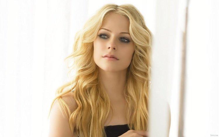 свет, блондинка, взгляд, аврил лавин, light, blonde, look, avril lavigne
