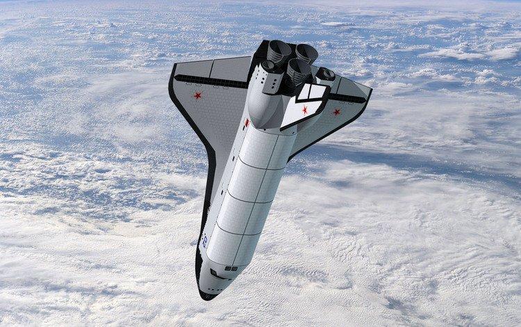 буран - космический корабль, buran - spacecraft