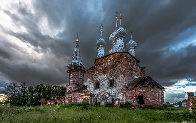церковь покрова пресвятой богородицы, дунилово, the church of the intercession of the blessed virgin mary, dunilovo