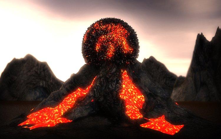 volcanic orb