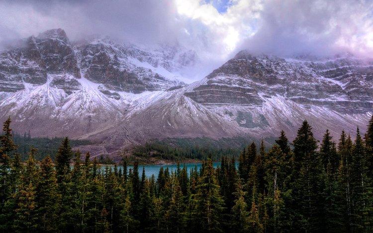 канада, провинция альберта, icefields parkway, canada, alberta