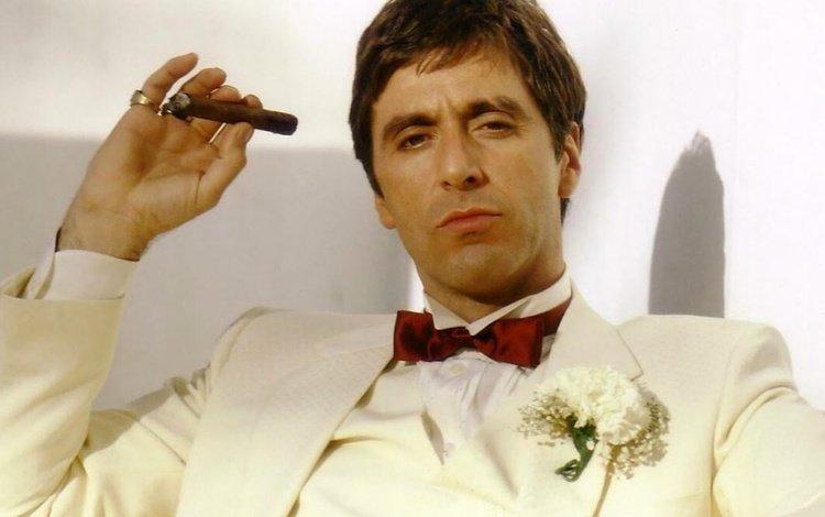 актёр, фильм, сигары, аль пачино, ганкстер, сигары., actor, the film, cigars, al pacino, gangster, cigars.