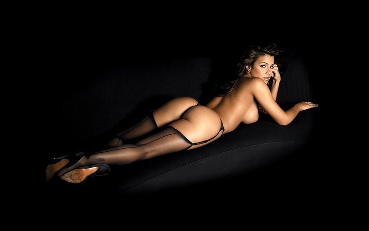 попа, чулки, сзади, vida guerra, ass, stockings, back