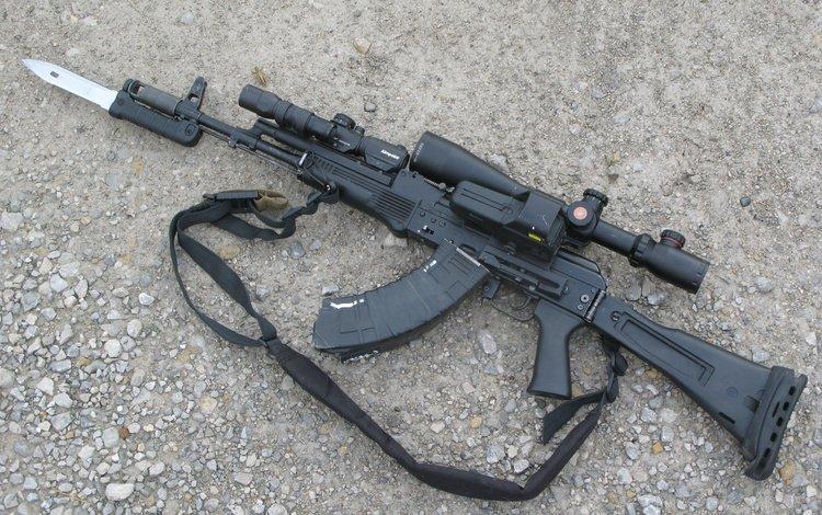 weapons, optics, the gun, bayonet, self-loading, carabiner
