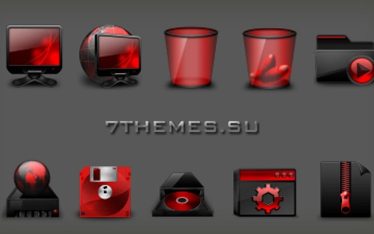иконки для windows 7 iconpackager.red icons, icons for windows 7 iconpackager.red icons