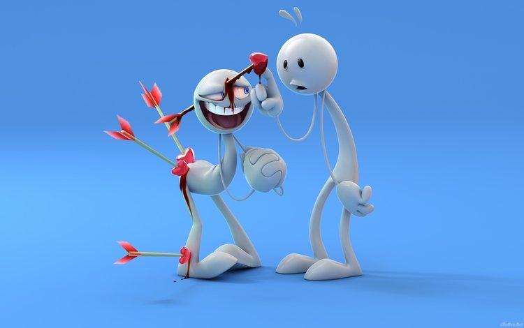 любовь сносит голову и совсем не больно., love makes you lose touch and not painful.