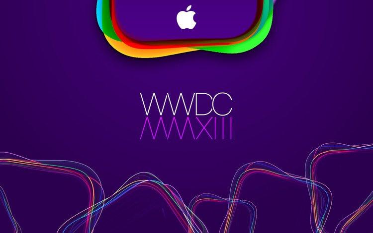 мак, лого, wwdc 2013, wwdc, эппл, mac, logo, apple