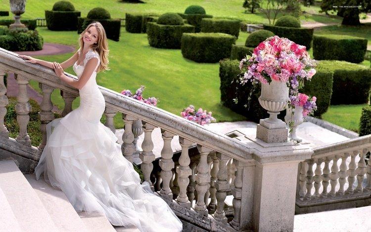 платье, улыбка, модель, свадьба, праздник, невеста, линдсей эллингсон, dress, smile, model, wedding, holiday, the bride, lindsay ellingson