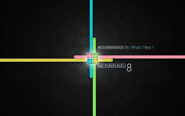 лого, 8, майкрософт, винда, logo, microsoft, windows