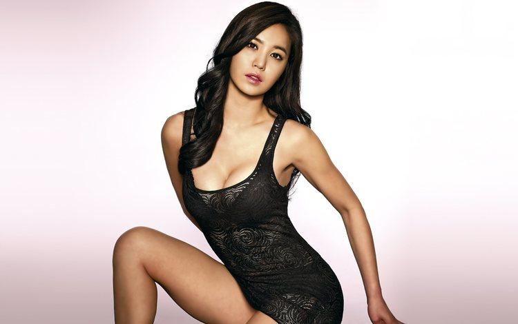 hot asian girl dancing № 643672