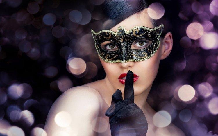глаза, карнавал, девушка, маска, брюнетка, взгляд, макияж, красивые, перчатки, eyes, carnival, girl, mask, brunette, look, makeup, beautiful, gloves