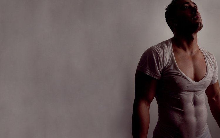 модель, мужчина, мокрая одежда, model, male, wet clothes