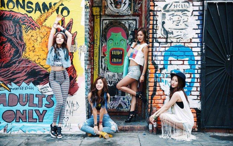 группа, девушки, корея, group, girls, korea