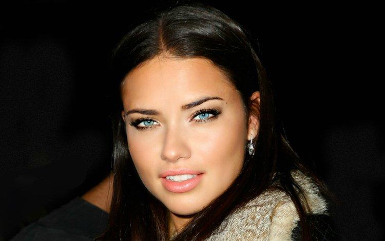 девушка, портрет, взгляд, модель, волосы, лицо, адриана лима, girl, portrait, look, model, hair, face, adriana lima