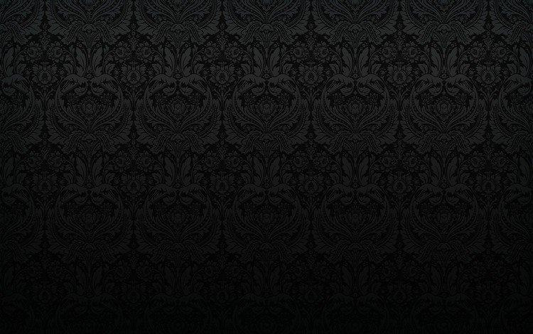 обои, текстура, узор, чёрные, wallpaper, texture, pattern, black