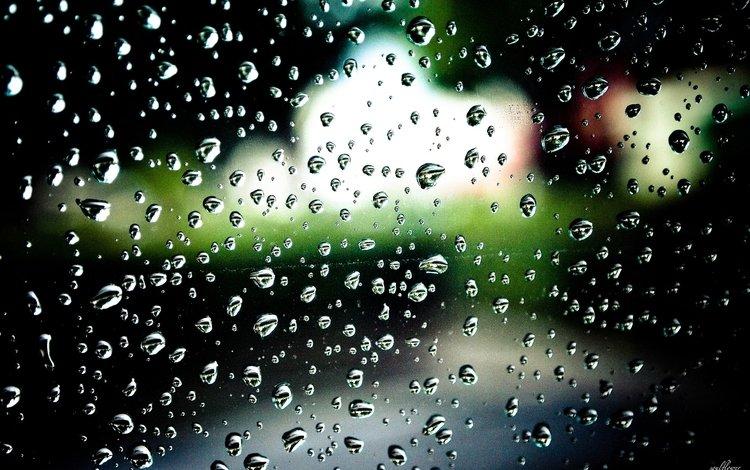 вода, капли, дождь, стекло, water, drops, rain, glass