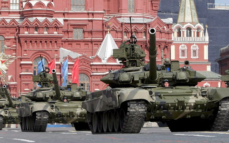 moscow, tank, russia, parade, military equipment, t-90