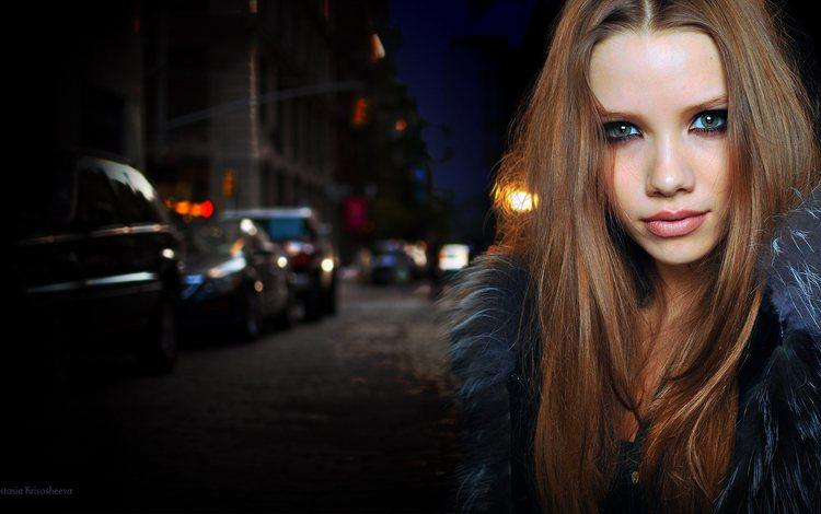 девушка, портрет, москва, взгляд, модель, россия, лицо, анастасия кривошеева, girl, portrait, moscow, look, model, russia, face, anastasia krivosheeva