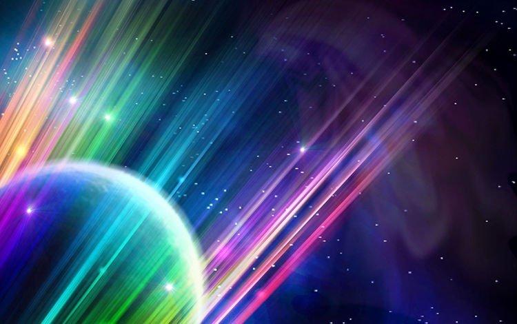 свет, шар, абстракция, линии, лучи, звезды, планета, цвет, сфера, light, ball, abstraction, line, rays, stars, planet, color, sphere