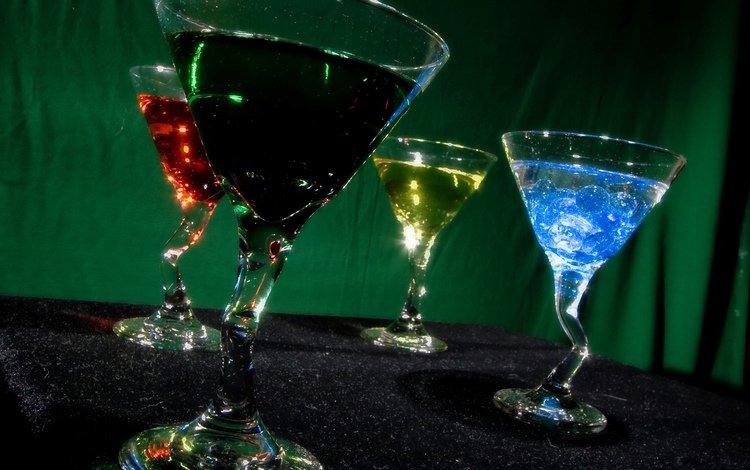 разноцветный, красивый, коктейль, алкоголь, colorful, beautiful, cocktail, alcohol