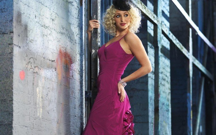 платье, актриса, шляпа, али бастиан, dress, actress, hat, ali bastian