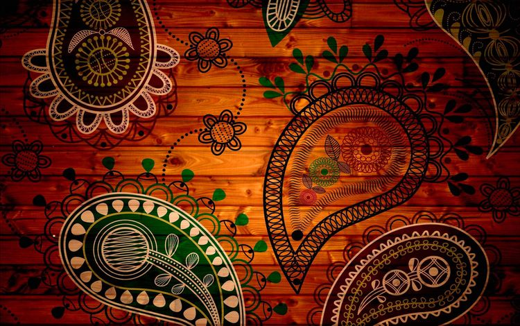 цветы, арт, рисунок, дерево, текстура, фон, узор, flowers, art, figure, tree, texture, background, pattern