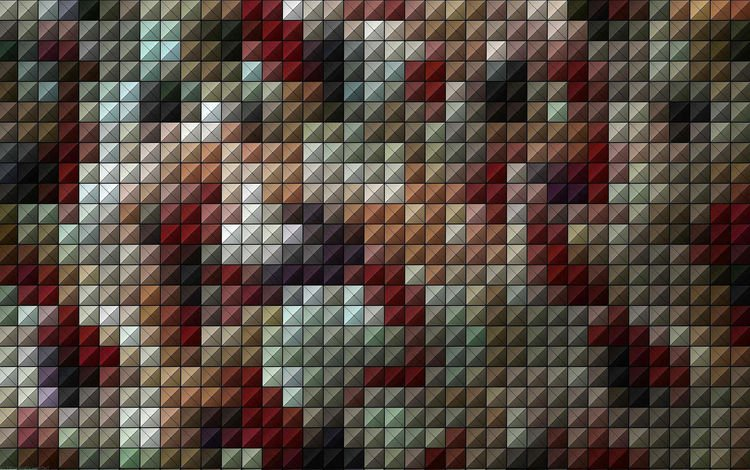 узор, цвет, мозаика, квадраты, квадратики, pattern, color, mosaic, squares