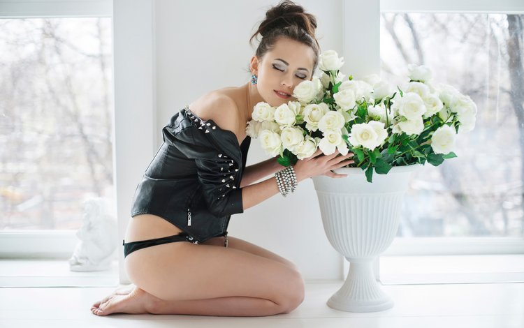 розы, трусики, ножки, catherine timokhina, екатерина тимохина, максим максимов, roses, panties, legs, ekaterina timokhina, maxim maximov